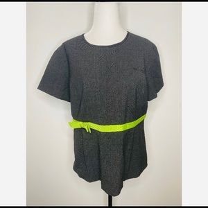 Kate Spade for Song Top Short Sleeve Bow